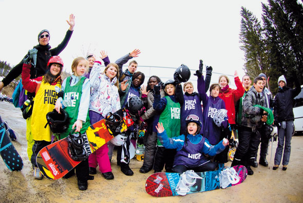 HIGH FIVE Snowboard Workshop