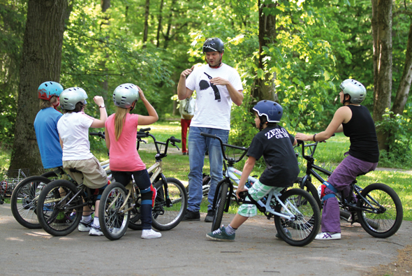 HIGH FIVE BMX Workshop